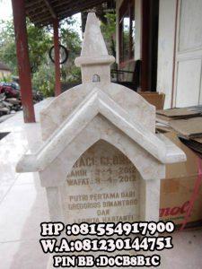 Makam Bayi Kristiani Marmer