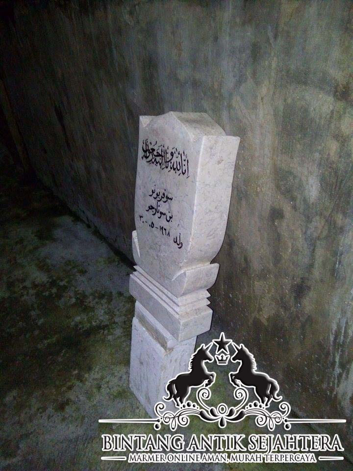 Batu Nisan Marmer | Harga Nisan Marmer Tulungagung