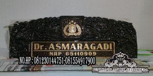 Papan Nama Pejabat Hitam    Jual Papan Nama Granit