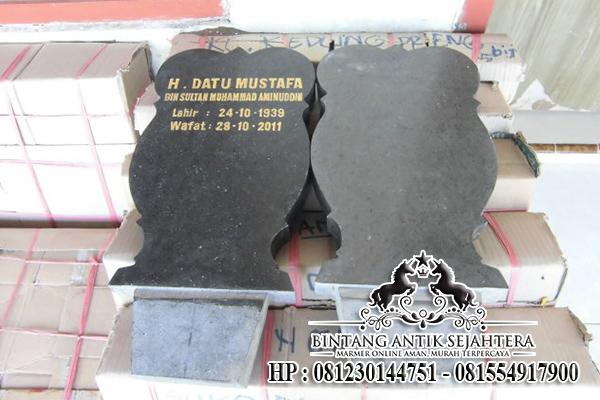 Jual Batu Nisan Marmer Granit