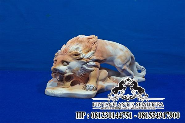 Patung Singa | Patung Marmer Onix Tulungagung