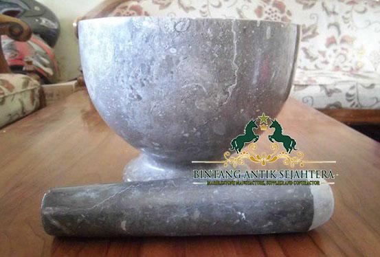 Tumbukan Obat Atau Mortar Marmer, Mortar Marmer Unik Bahan Marmer