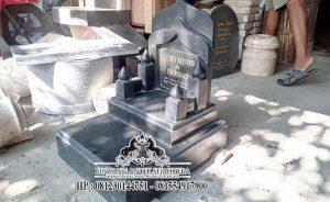 Makam Minimalis Bahan Granit, Jasa Pasang Makam