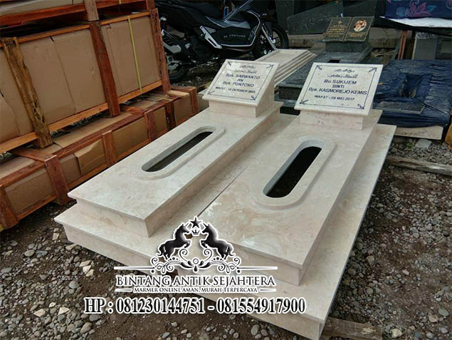 Makam Marmer Trap Dua Terbaru, Contoh Model Makam Marmer