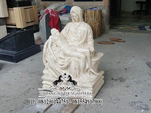 Pengrajin Patung Marmer, Jual Patung Pieta Bahan Marmer