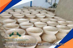 Wastafel Marmer Mangkok