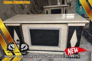 Aneka Meja Kantor Berkualitas, Meja Kantor Bahan Marmer Maupun Granit