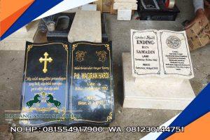 Batu Nisan Marmer & Granit, Jasa Pembuatan Batu Nisan, Harga Terjangaku & Berkualitas