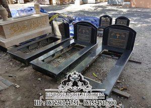 Makam Kristen Minimalis, Kijingan Sederhana Batu Granit