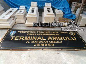 Prasasti Peresmian Granit || Jual Papan Nama Nameboard