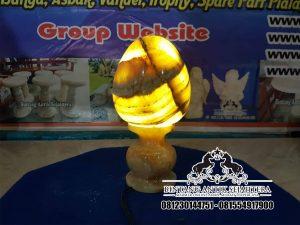 Jual Kap Lampu Telur Onyx Tulungagung | Kap Lampu Unik