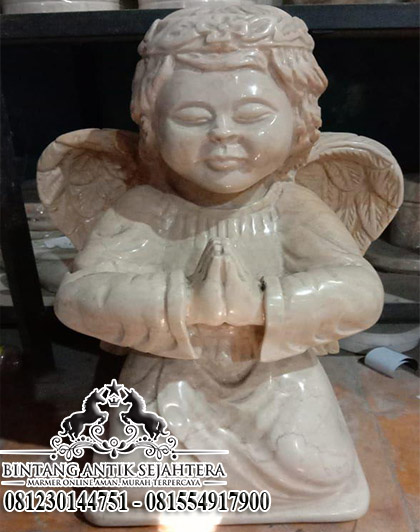 Patung Malaikat Marmer, Patung Angel Bahan Marmer