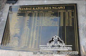 Prasasti Nameboard Ngawi, Jual Prasasti Nameboard Granit