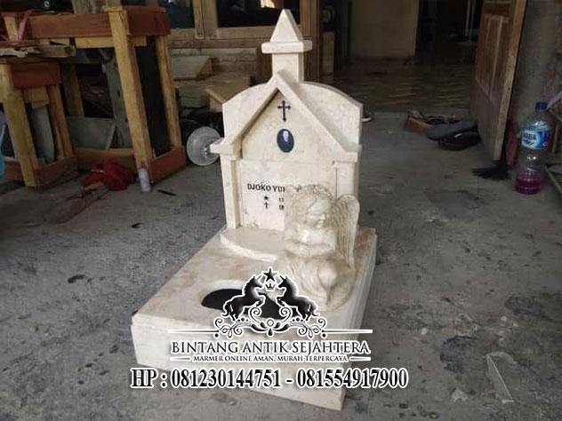 Makam Minimalis Bahan Marmer, Pusat Kerajinan Makam dan Nisan
