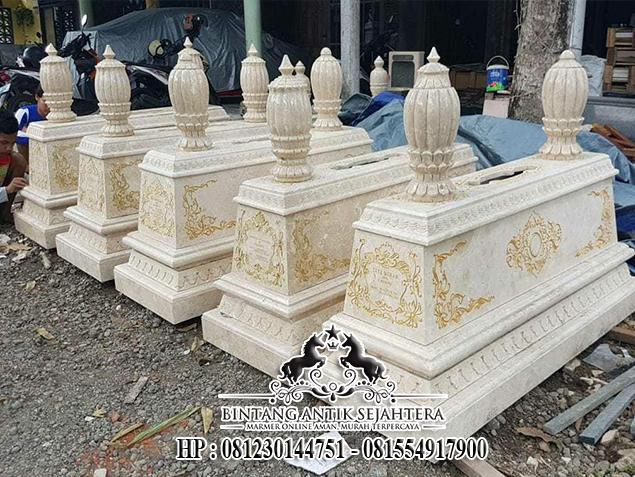 Pengrajin Makam Soeharto, Model Makam Mewah, Makam Marmer Asli