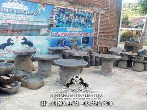 Contoh Meja Batu Kali