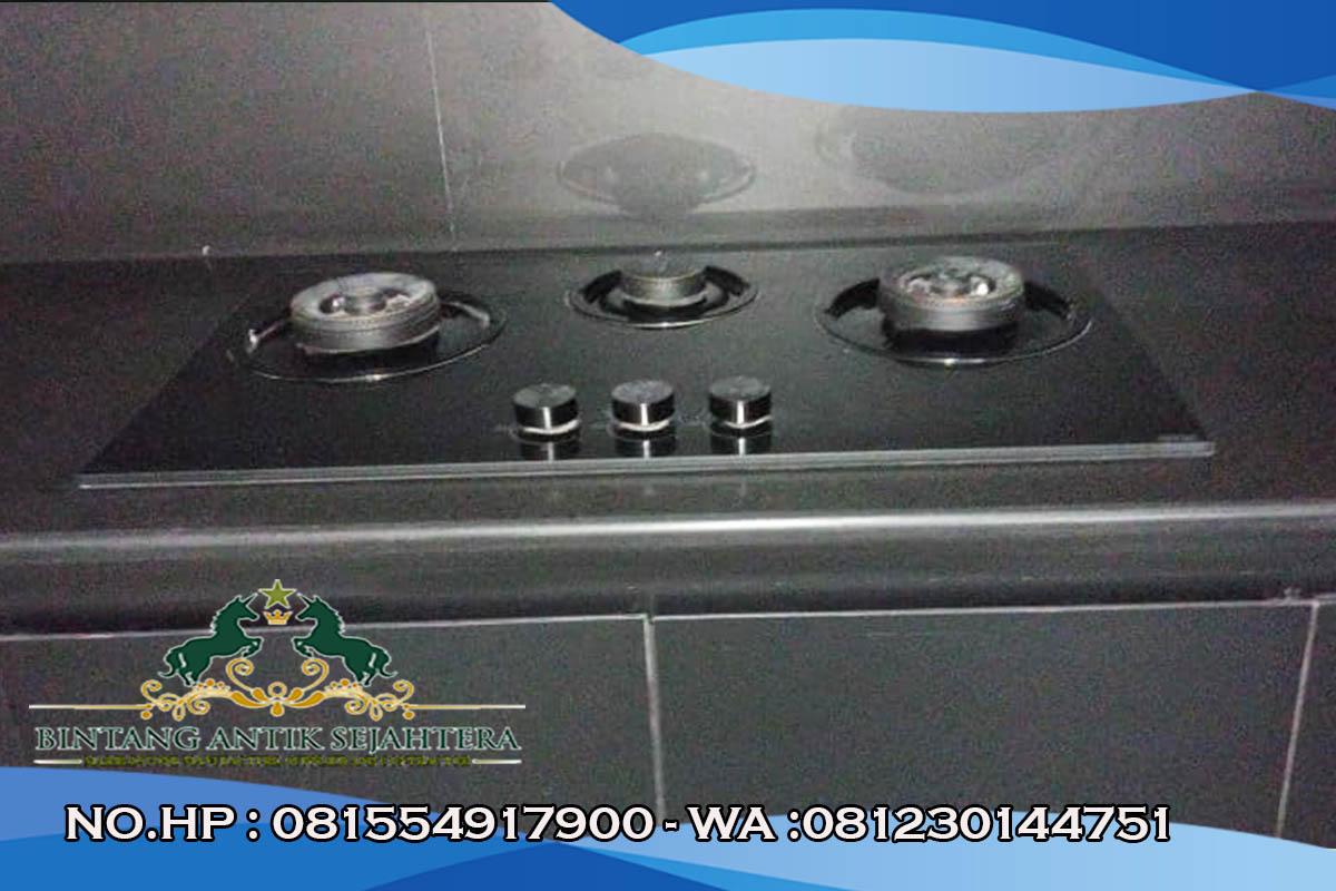 Meja Dapur Bahan Granit, Meja Kompor Bahan Granit, Kitchen Set Murah Batu Alam