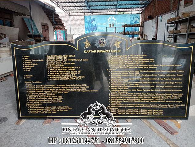 Contoh Batu Nisan Bongpay Makam Kristen, Bongpay Batu Granit